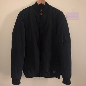 Obey All Black Bomber Jacket